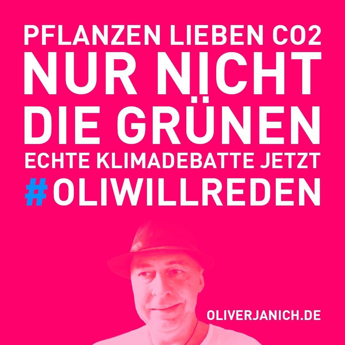 #OliWillReden Klimadebatte Oliver Janich Klimawandel #Rezo Umweltschutz