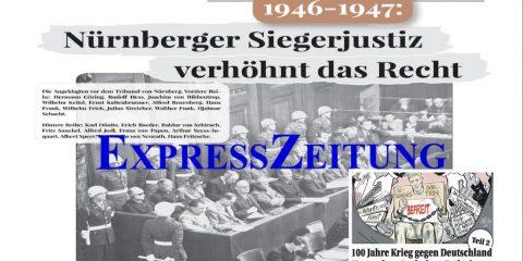 "Nürnberger Prozesse: ""An Beweisregeln nicht gebunden"