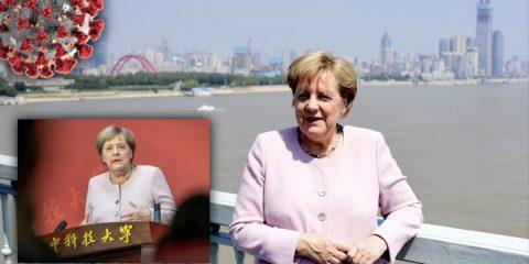 Kurz vor Coronavirus-Ausbruch: Merkel hält NWO-Rede in Wuhan